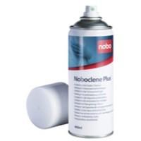 Nobo Clene Plus Drywipe Board Cleaner 400ml Aerosol Code 34531163