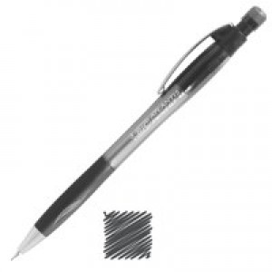 Bic Atlantis Mechanical Pencil Comfort-grip Retractable with 3 x HB 0.7mm Lead Code 820646