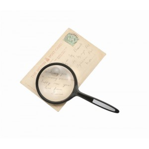 Round Magnifier 2x Main Magnification 4x Window Magnification Diam.76mm