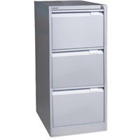 Bisley BS3E Filing Cabinet 3-Drawer H1016mm Goose Grey Ref BS3E-73