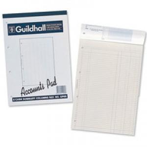 Guildhall Gp8S Accounts Pad  1589
