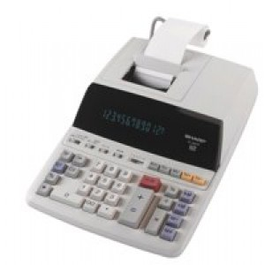 Sharp Printing Calculator 12-digit Fluorescent Display EL2607PGY