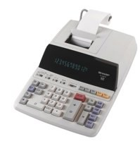 Sharp Calculator Printing Mains-power 12 Digit 3.0 Lines/sec 222x327x78mm Ref EL2607PGY