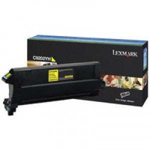 Lexmark Toner Cartridge C920 Yellow C9202YH