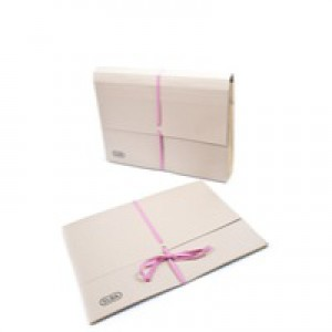 Elba Deed Legal Wallet with Security Ribbon Capacity 51mm Foolscap Buff Ref 100080791 [Pack 25]