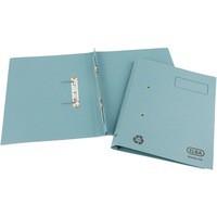 Elba Spirosort Transfer Spring File Recycled 315gsm 35mm Foolscap Blue Ref 100090159 [Pack 25]