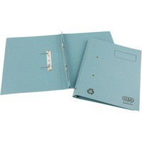 Elba Spirosort Transfer Spring File Recycled 315gsm 35mm Foolscap Blue Ref 100090159 [Pack 25]