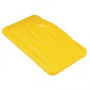 Rubbermaid Slim Jim Lid for General Recycling System Yellow Ref 2688-88-YEL