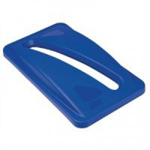 Rubbermaid Slim Jim Lid for Paper Recycling System Blue Ref 2703-88-BLU