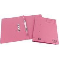 Elba Spirosort Transfer Spring File Recycled 315gsm 35mm Foolscap Pink Ref 100090162 [Pack 25]