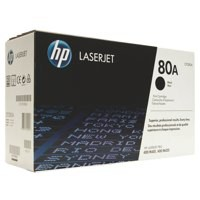 Hewlett Packard [HP] No. 80A Laser Toner Cartridge Page Life 2700pp Black Ref CF280A