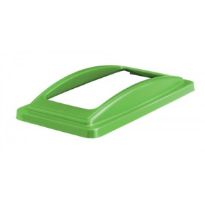 EcoSort Mixed Recyclng Frame Lid Green Code ECOFRAMESPIC1