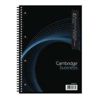 Cambridge A4 Twin Wire Notebook 200 Page Pack 3 Code 100082373