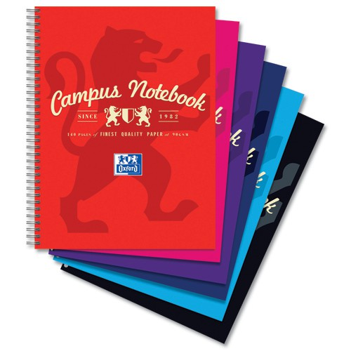 Oxford Campus A4 Notebook 140 Pages Code 400013920