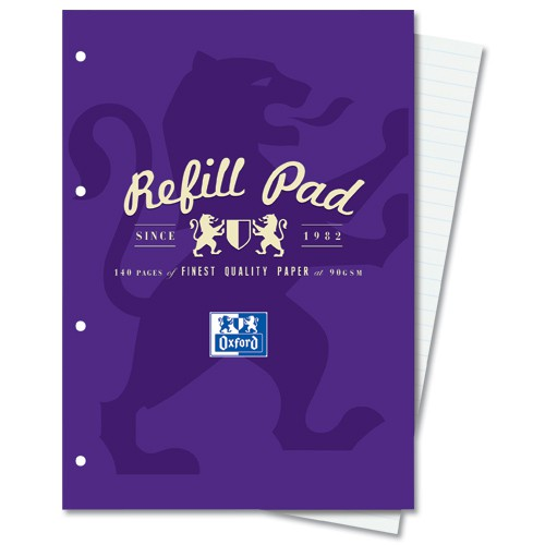 A4 Refill PadRuled With Margin 400013925