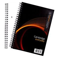 Cambridge EveryDay Notebook Wirebound 100 Pages 80gsm A5 Ref 400020197 [Pack 5]