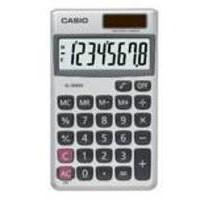 Casio 8-digit Pocket Calc SL-300V-S-GH