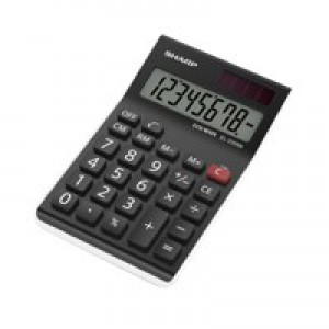Sharp EL310ABBK Calculator