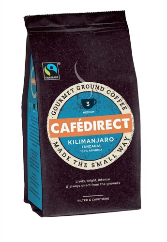 Cafe Direct Kilimanjaro Ground Coffee 227g Code A07611