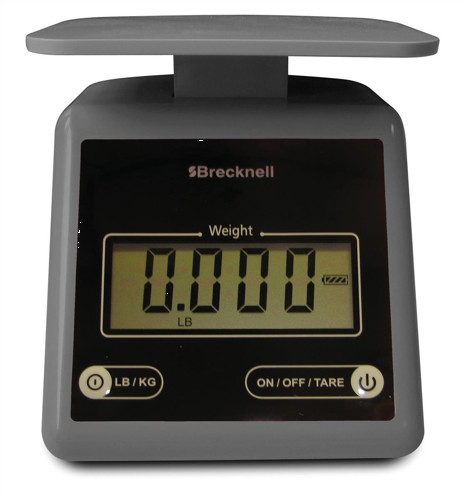 Salter Brecknell PS7 3.2kg Electronic Postal Scale Grey Code 816965005222