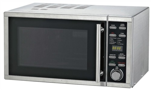 Russell Hobbs Microwave Convection Oven and Grill 900W 25 Litre Stainless Steel Ref RHM2506