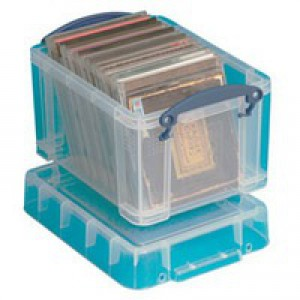 Really Useful Box Clear 3 litre 3C