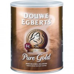 Douwe Egberts Pure Gold 750g Instant Coffee Code 257750