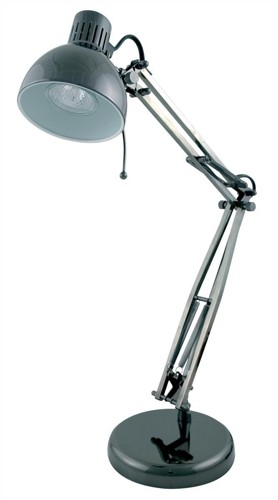 35w Studio Poise Desk Lamp Black Chrome