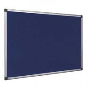 Bi-Office Fire Ret NBrd 900x600mm Blue