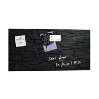 Sigel Artverum Glass Magnetic Board 910x460mm Slate Code GL149