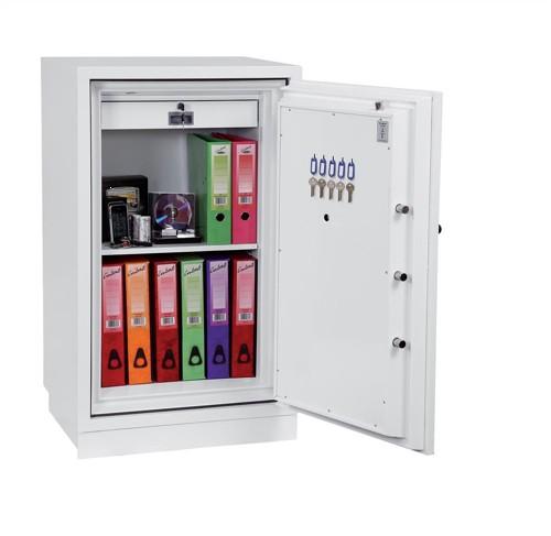 Phoenix Fire Fighter II Safe Electronic Lock 208kg 145 Litre White Ref FS0443E