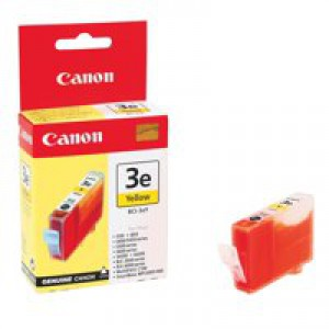 Canon BCI-3eY Yellow Inkjet Cartridge