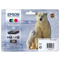 Epson 26 Polar Bear Claria Premium Ink Multipack T2616