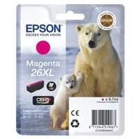 Epson 26XL Polar Bear Claria Premium Ink Magenta T2633