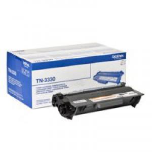 Brother Laser Toner Cartridge Standard Yield 3k Black Code TN-3330