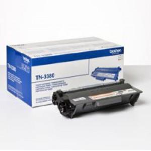 Brother Laser Toner Cartridge High Yield 8k Black Code TN-3380