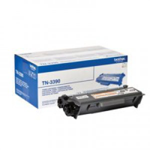 Brother Laser Toner Cartridge Super High Yield 12k Black Code TN-3390