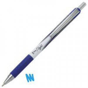 Zebra Z-Grip Flight Bpen Blue 01374