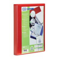 Image for Elba Panorama Presentation Binders 4 O-Ring 16mm A4 Red Ref 400020316 [Pack 5]