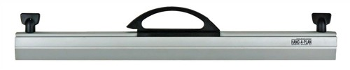 Arnos Hang-A-Plan General Front Load Binder Capacity 150 Sheets A2 W475mm Silver Ref D099A