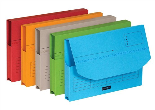 Elba Ultimate Document Wallet A4 Assorted Pack 25 Code 100330167