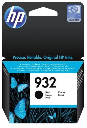 Hewlett Packard [HP] No. 932 Inkjet Cartridge 8.5ml Black Ref CN057AE