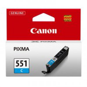 Canon CLI-551 Cyan Ink Cartridge Code 6509B001