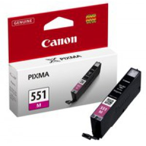 Canon CLI-551 Magenta Ink Cartridge Code 6510B001