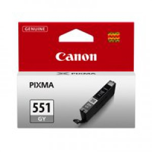 Canon Ink Cartridge Grey CLI-551 GY