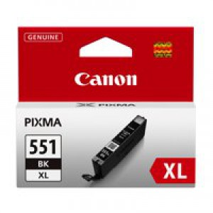 Canon CLI-551 XL Black Ink Cartridge Code 6443B001