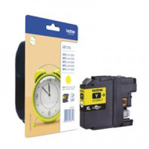 Brother LC125 Yellow Ink Cartridge Code LC125XLY