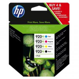 HP No.920XL Ink Cartridges Combo Multi-Pack 4 Code C2N92AE