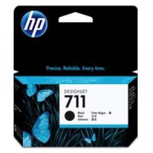 HP No.711 Inkjet Cartridge 38ml Black Code CZ129A