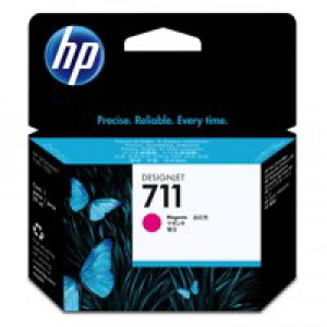 HP No.711 Inkjet Cartridge 29ml Magenta Code CZ131A